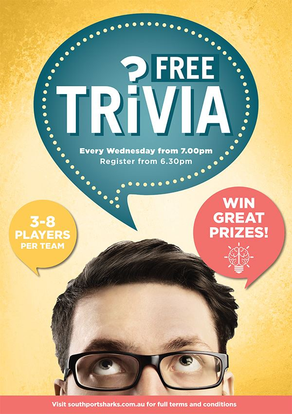 Southport Sharks Trivia Night